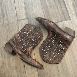 Mia Limited Edition Western Stud Boots Sz 9